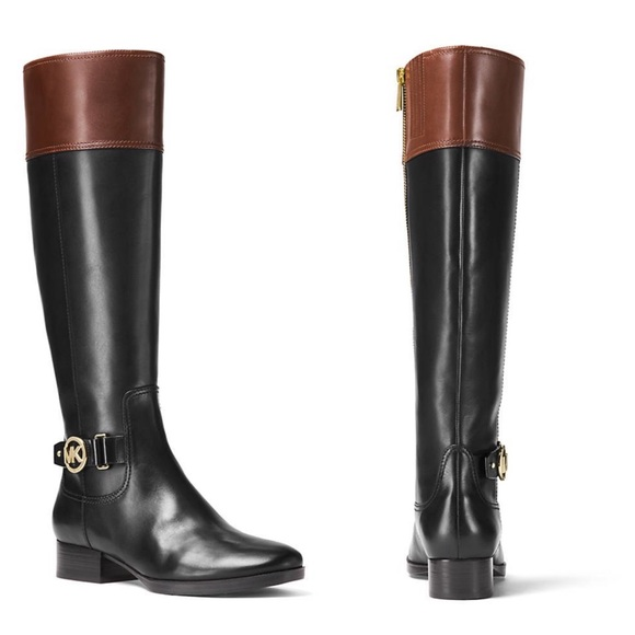 21ba128393d8 🆕MICHAEL MICHAEL KORS Harland Leather Boots